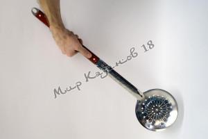 Шумовка 64 см с деревянной ручкой