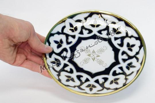 Тарелка Пахта 20 см (фарфор)