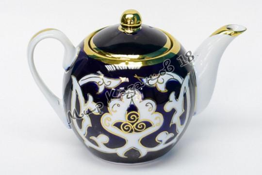 Чайник круглый Пахта 0,75 л (фарфор)