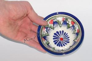 Пиала (фарфор) 11 см Синяя