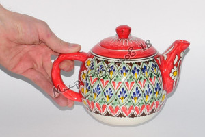 Чайник (фарфор) 1,25 л Накша Красный