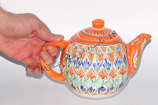 Чайник (фарфор) 1,25 л Накша Оранжевый
