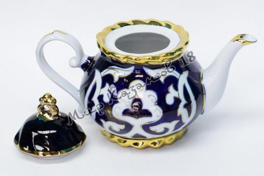 Чайник фигурный Пахта 1,2 л (фарфор)