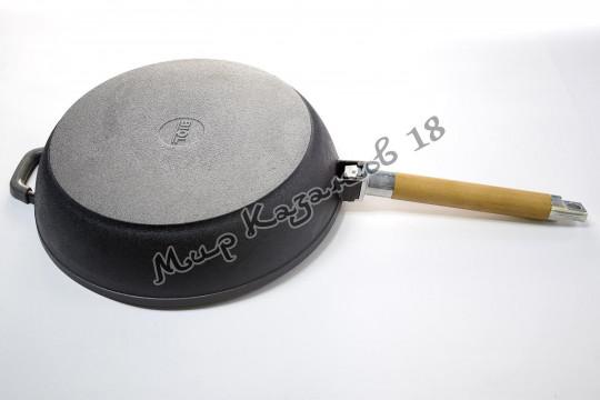 Сковорода-сотейник чугунный BIOL 28 см