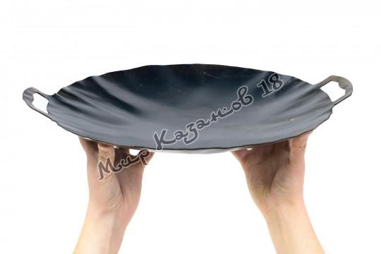 Садж 40 см Воронёная сталь