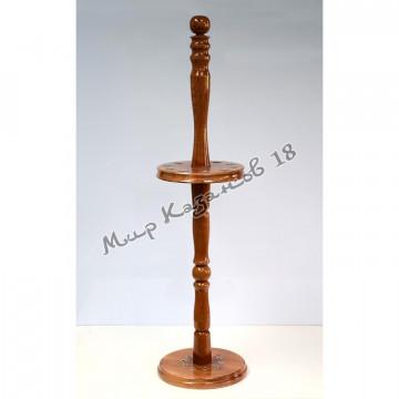 Подставка для 10 шампуров, деревянная стойка
