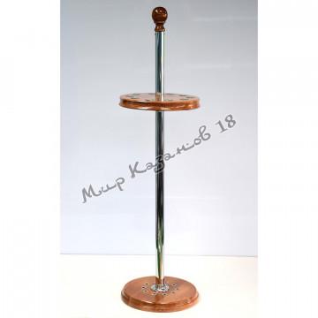 Подставка для 10 шампуров, металлическая стойка