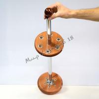 Подставка для 6 шампуров, металлическая стойка