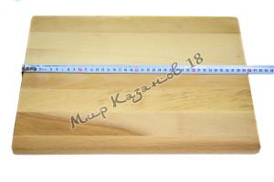 Разделочная доска 30х40х2 см Дерево