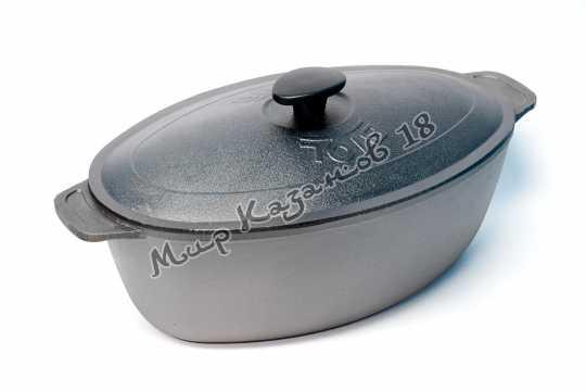 Гусятница литая чугунная BIOL 8 л