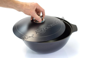Казан Kukmara 4,5 л антипригарное покрытие