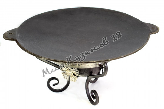 Садж-сковорода 46 см Чугун