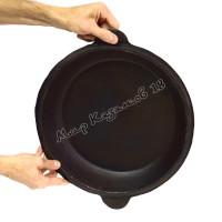 Крышка-сковорода чугунная для 8л казана