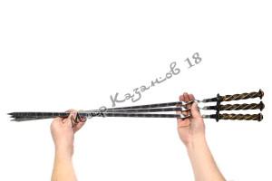 Шампур 50 см Ручка кованая