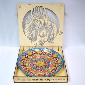 Подарочная коробка Жар птица для лягана 32 см