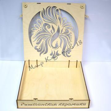 Подарочная коробка Жар птица для лягана 45 см